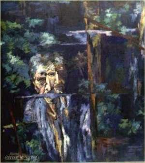 obraz - 'Dwa oblicza' - Teresa Ulma