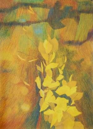 Rysunek -'Promienny' - Teresa Ulma
