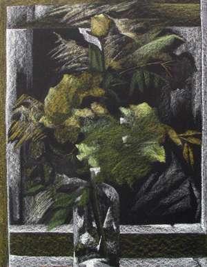 Rysunek 'W oknie I' - Teresa Ulma