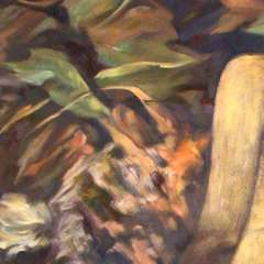 Obraz - Uwikłana - detal 1