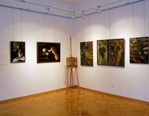 Zdjęcie z wystawy u Attavantich - Jarosław listopad 2009