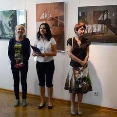Zdjęcie z wystawy 'Moje konstelacje' - galeria w Jarosławiu