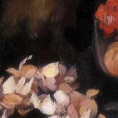 Mała martwa natura - obraz olejny - detal 2
