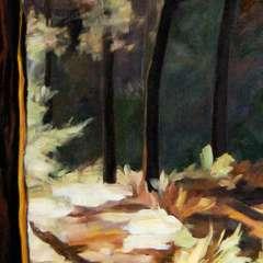 Pejzaż okienny II - detal II
