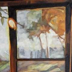 Pejzaż okienny III - detal I