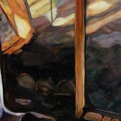Pejzaż okienny III - detal II