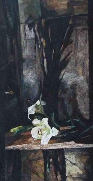 Lilie - obraz - Teresa Ulma