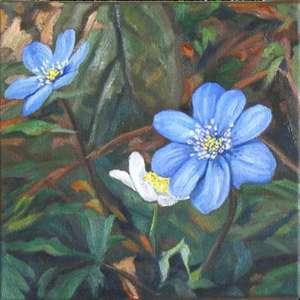 Kwiaty - małe formy malarskie