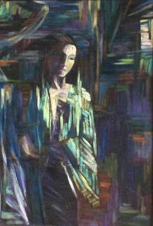 Obraz olejny - 'W oczekiwaniu na świt'