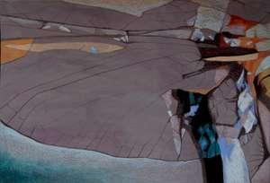 Ulotne III - Teresa Ulma - rysunek